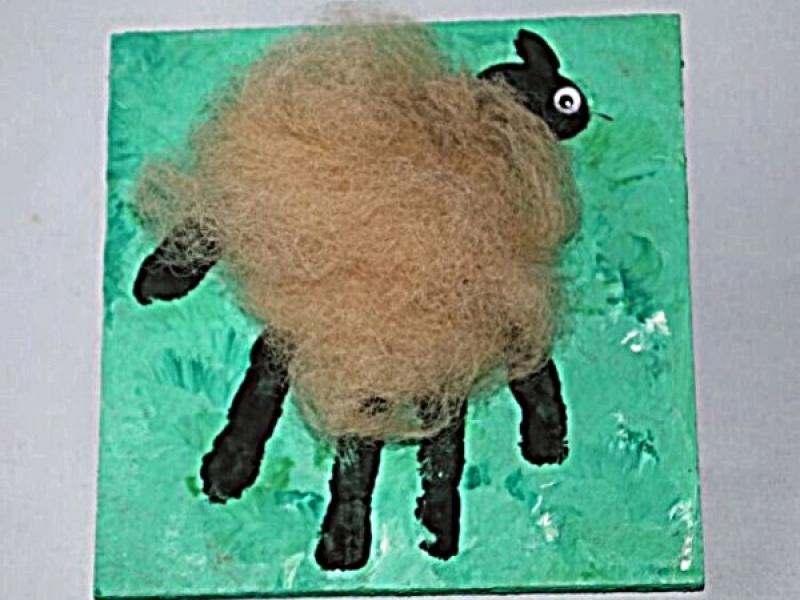 schapenschilderij